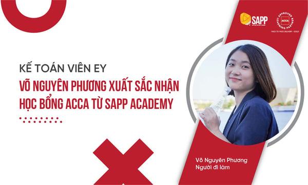 Võ Nguyên Phương xuất sắc nhận học bổng từ SAPP Academy