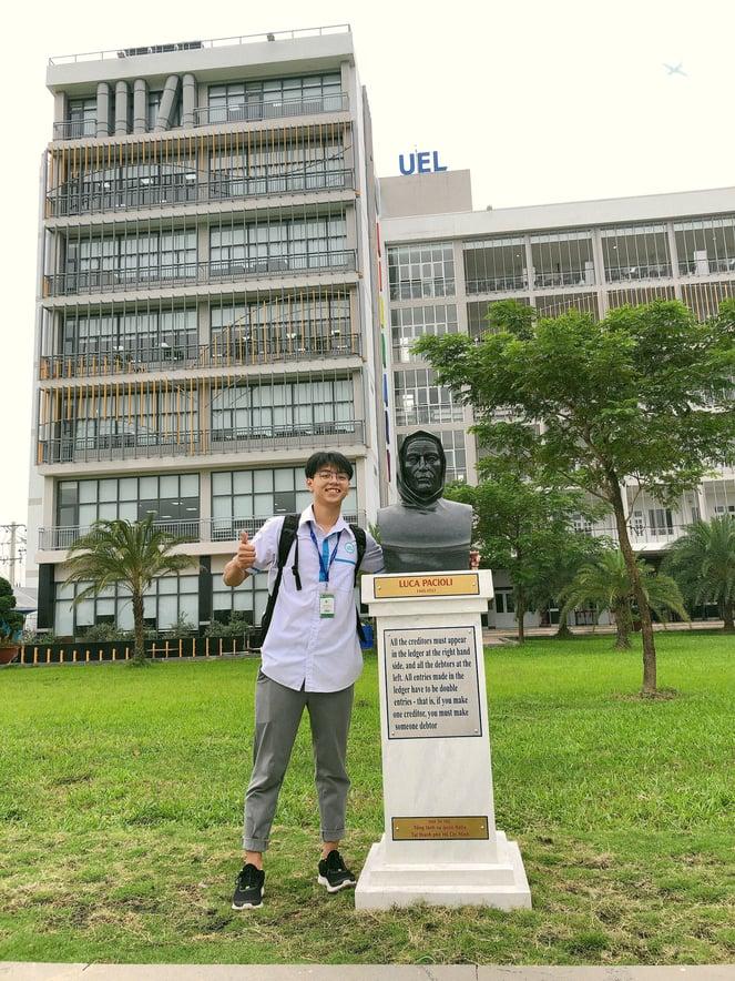 Chàng trai cá tính giành trọn học bổng ACCA - SAPP Academy