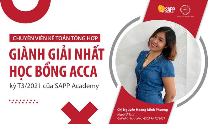Học bổng ACCA kỳ T3/2021 - SAPP Academy