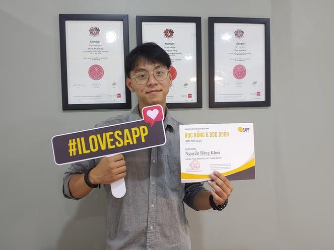 Chàng trai cá tính giành học bổng ACCA - SAPP Academy