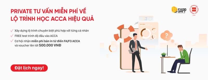 Private tư vấn miễn phí về lộ trình học ACCA hiệu quả