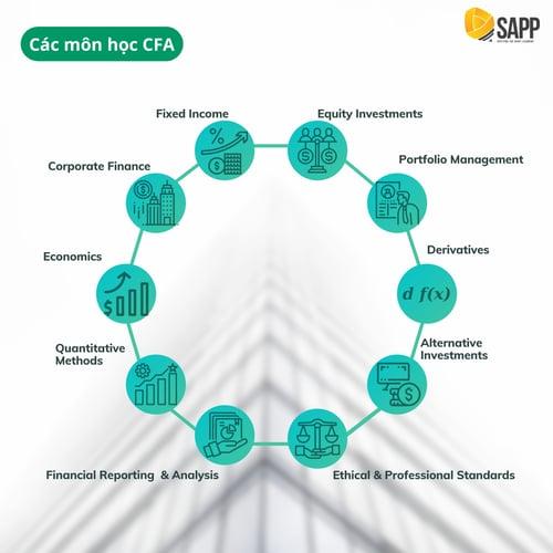 Các môn học CFA - SAPP Academy