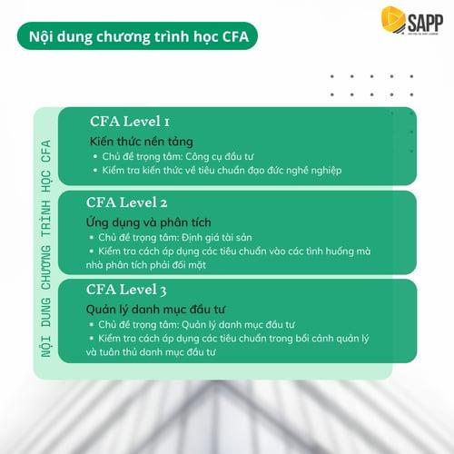 Nội dung chương trình học CFA - SAPP Academy