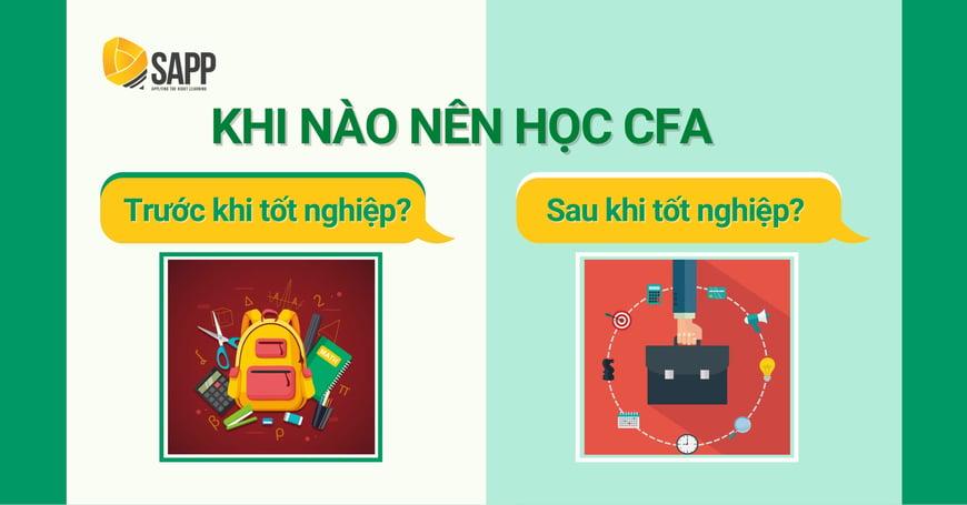 Nên Học CFA Trước Hay Sau Khi Tốt Nghiệp Đại Học?