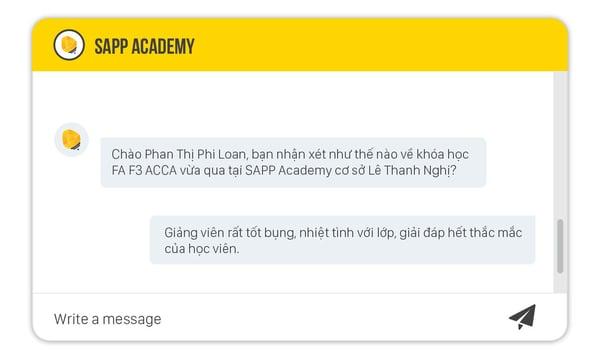 khóa học Financial Accounting (FA F3 ACCA) tại SAPP Academy