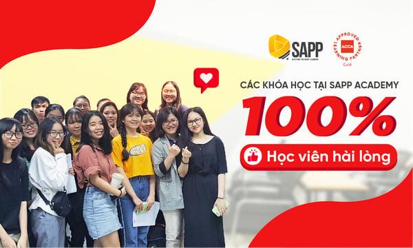 học viên hài lòng với chất lượng các khóa học tại SAPP Academy