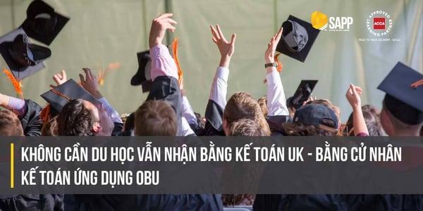 Không Cần Du Học Vẫn Nhận Bằng Kế Toán UK - Bằng Cử Nhân Kế Toán Ứng dụng OBU