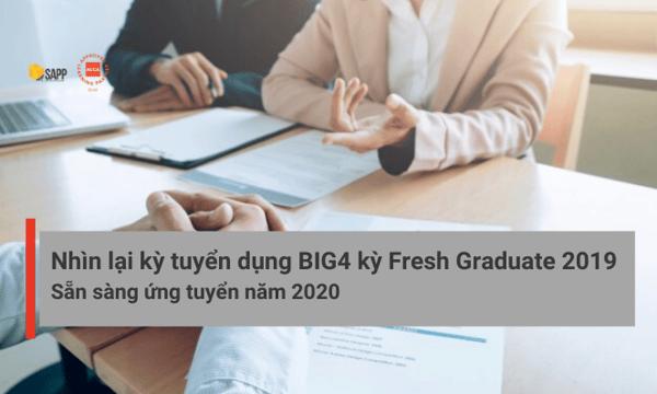 kỳ tuyển dụng BIG4 Fresh Graduate SAPP.edu.vn