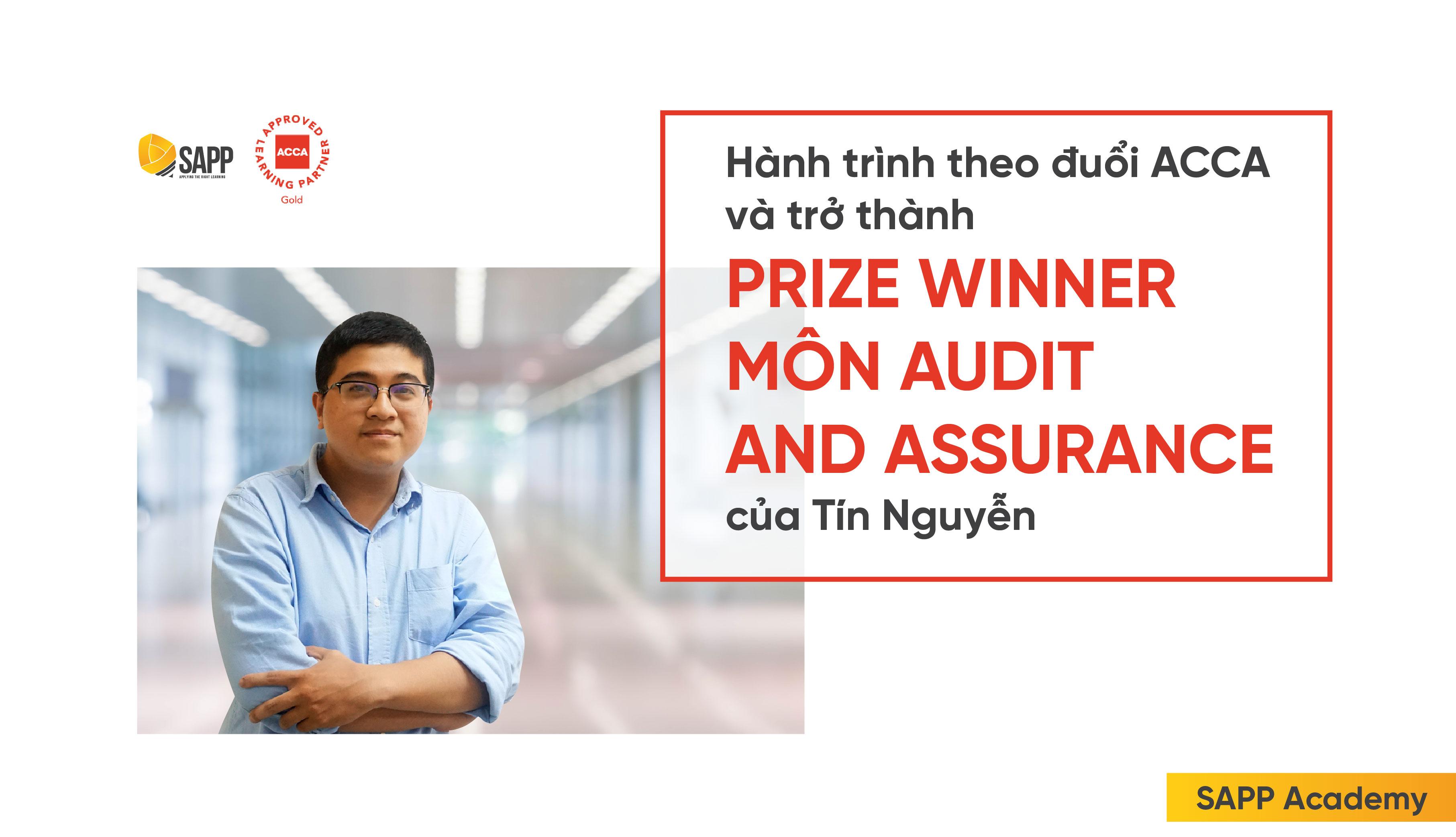 Prize Winner môn Audit and Assurance Tín Nguyễn