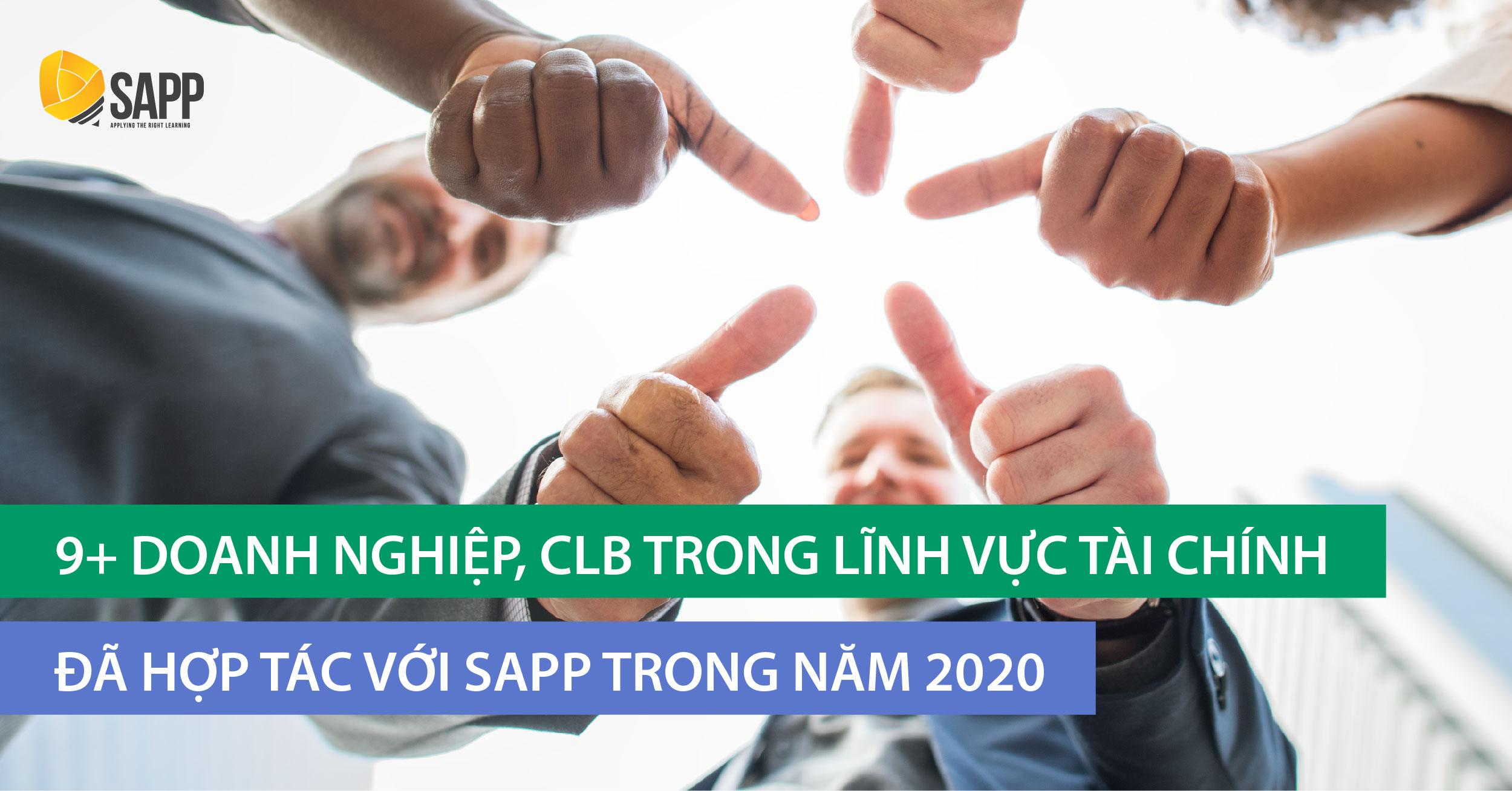 9+ Doanh nghiệp, CLB Đầu tư - Tài chính hợp tác với SAPP Academy 2020
