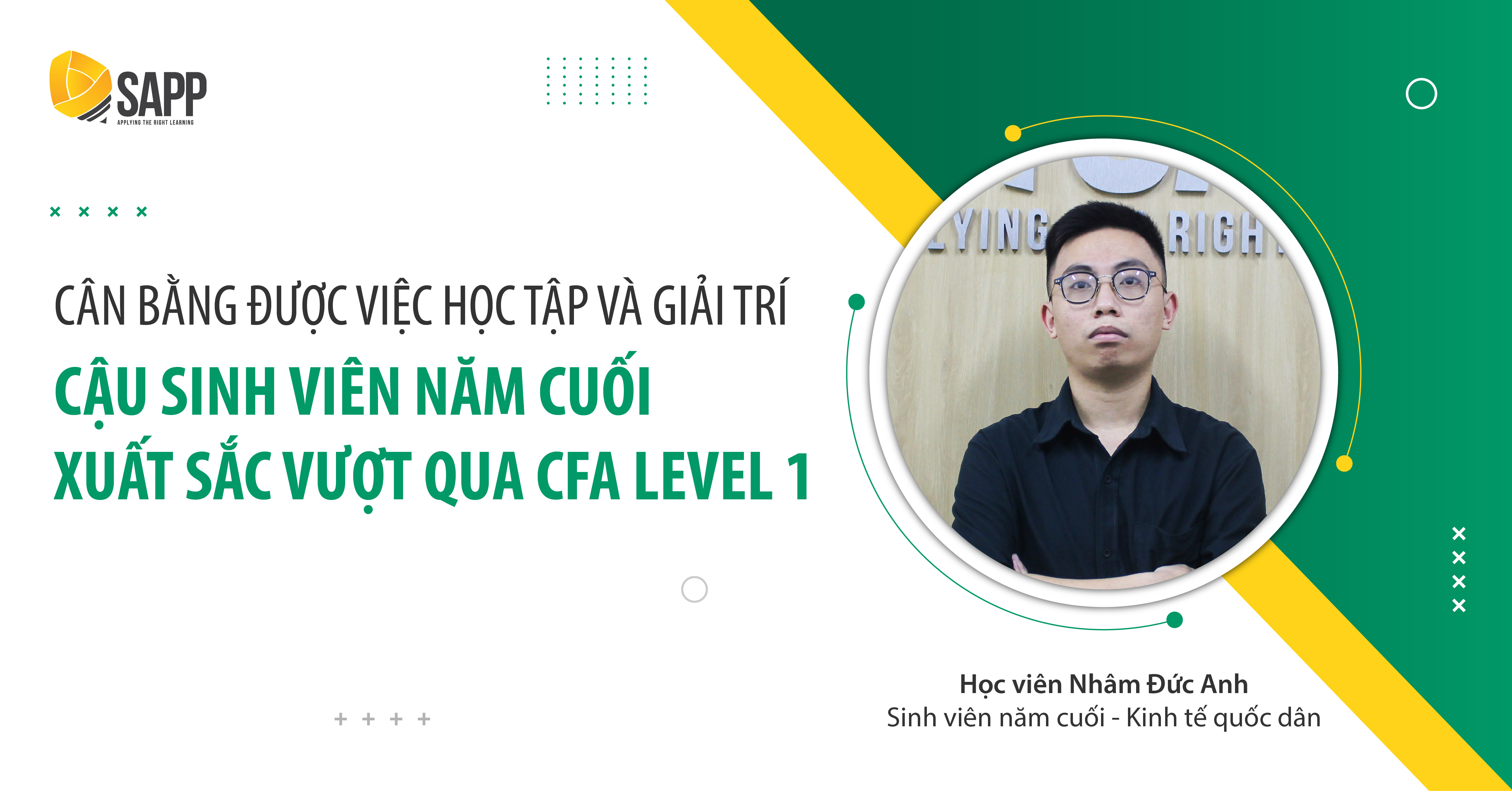 Bí kíp pass CFA Level 1 của sinh viên năm cuối