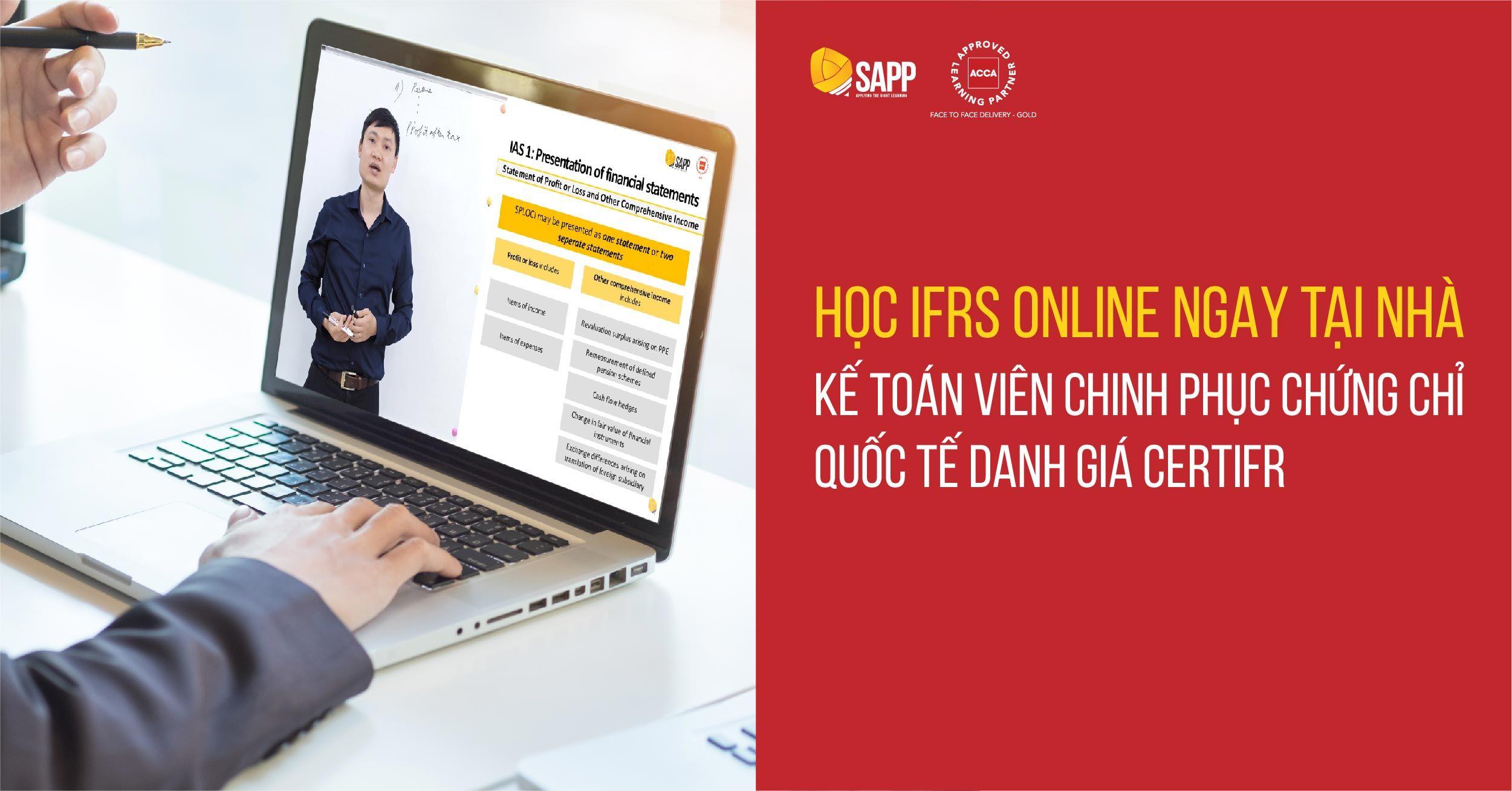 Học IFRS Online ngay tại nhà - Chinh phục chứng chỉ CertIFR