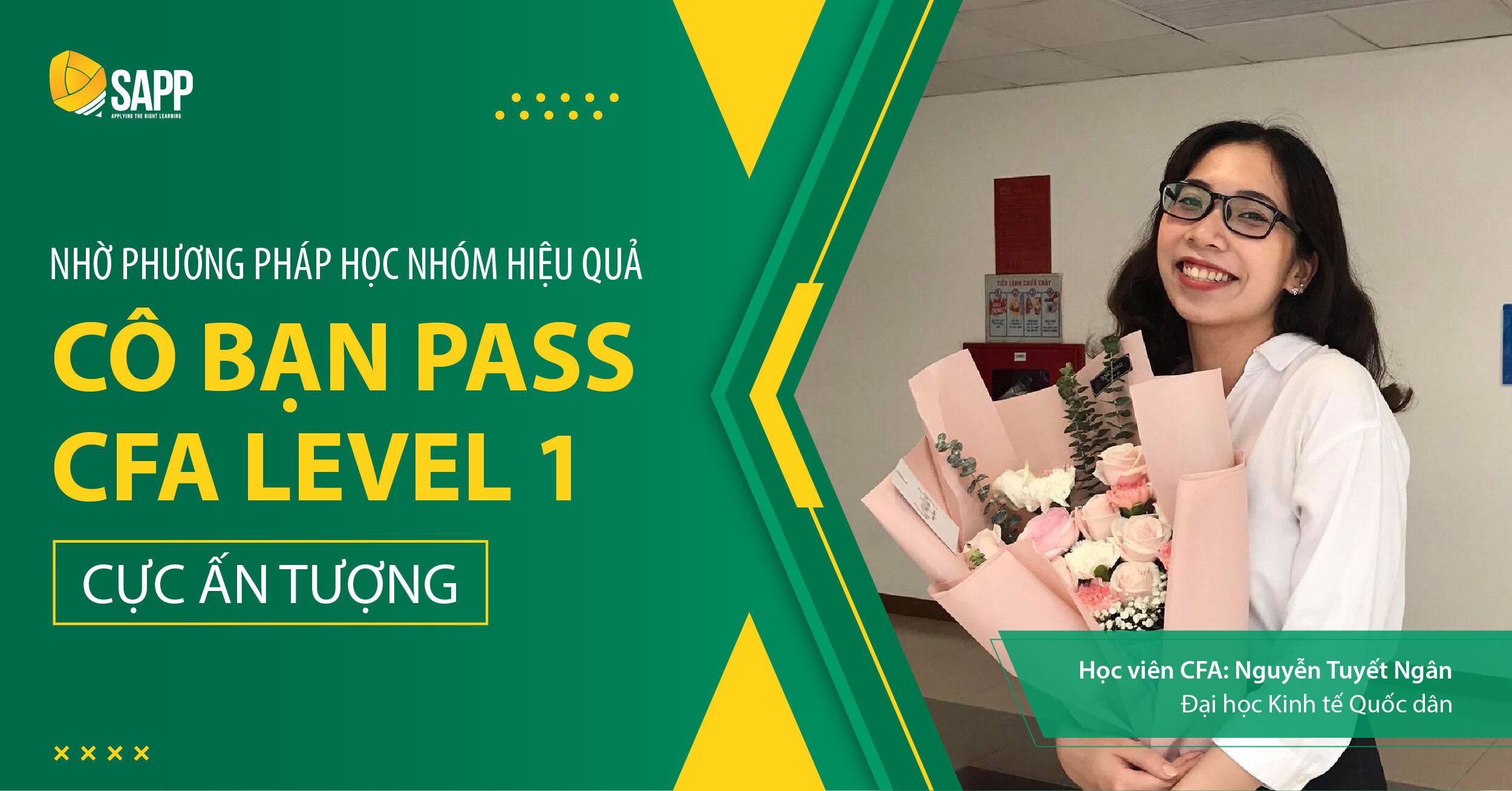 Nhờ Phương Pháp Học Nhóm Hiệu Quả, Cô Bạn Pass CFA Level 1 Cực Ấn Tượng