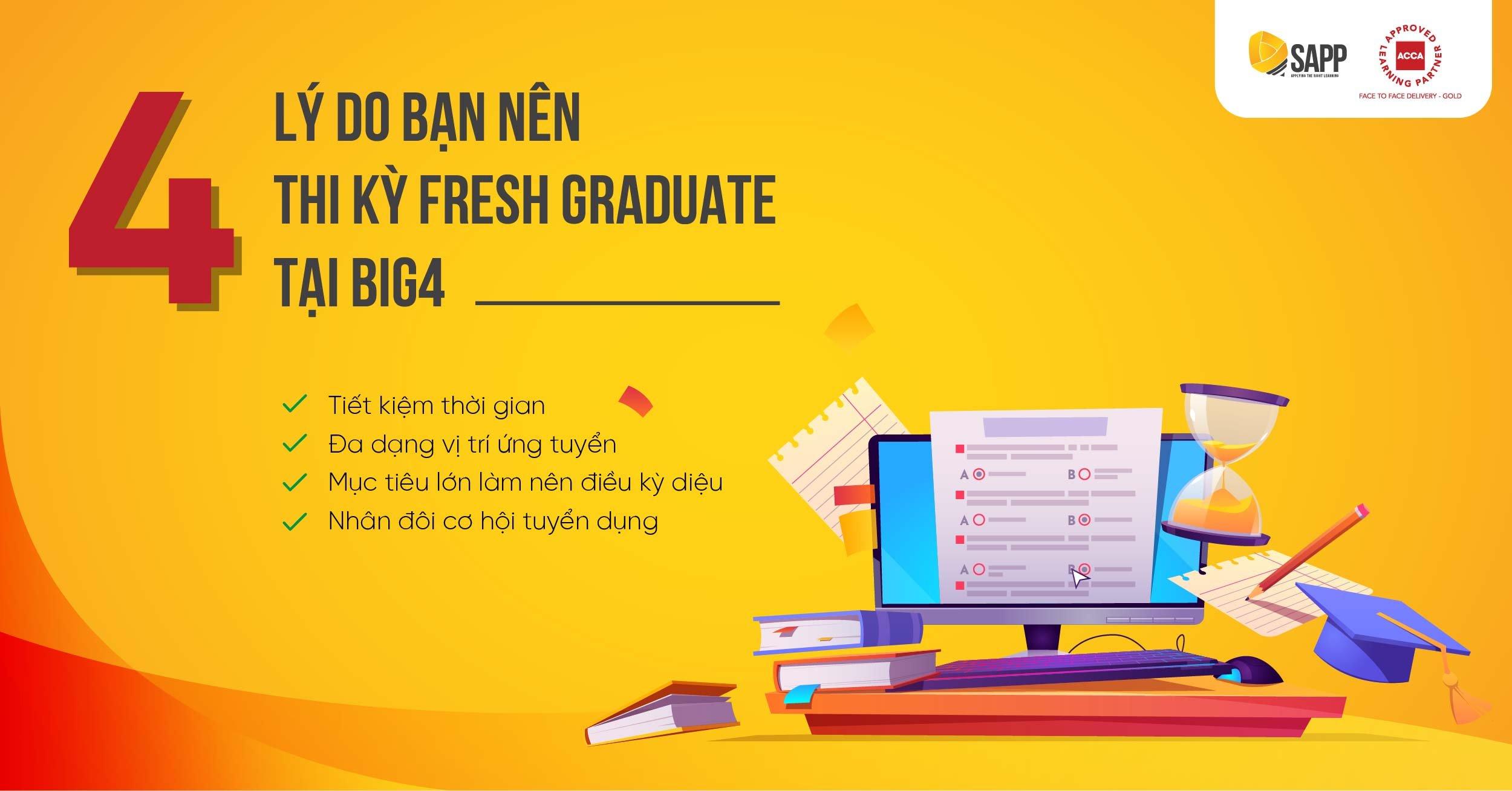 4 lý do bạn nên thi kỳ Fresh BIG4