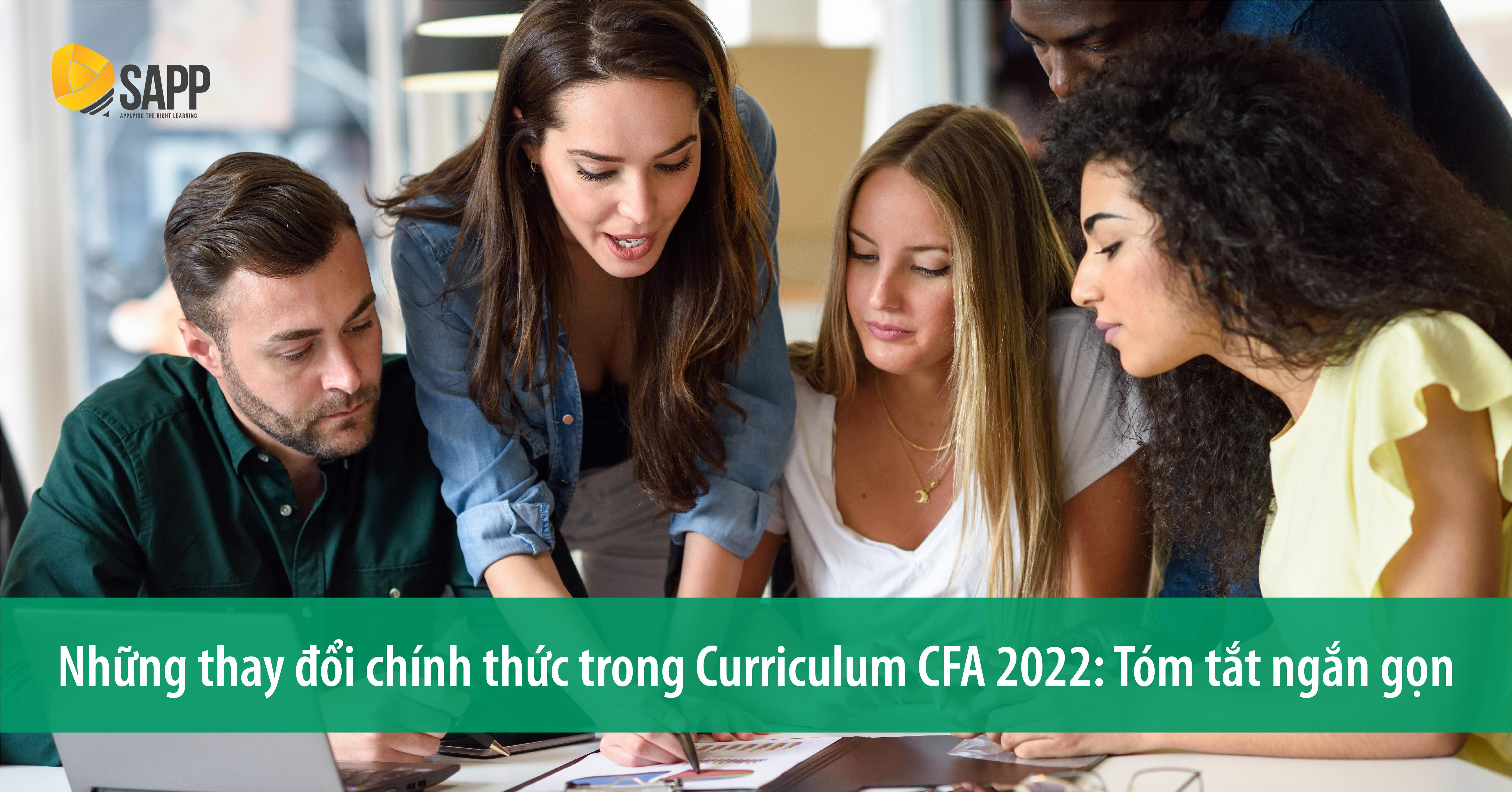 CFA Curriculum changes 2022