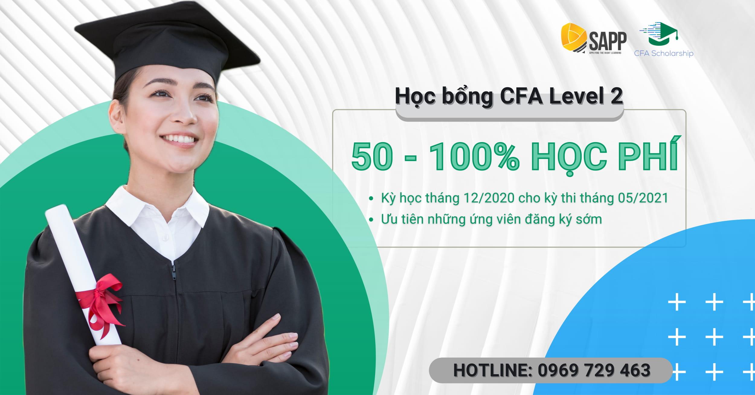Học CFA Level 2 Không Mất Học Phí, Tại Sao Không? - SAPP Academy