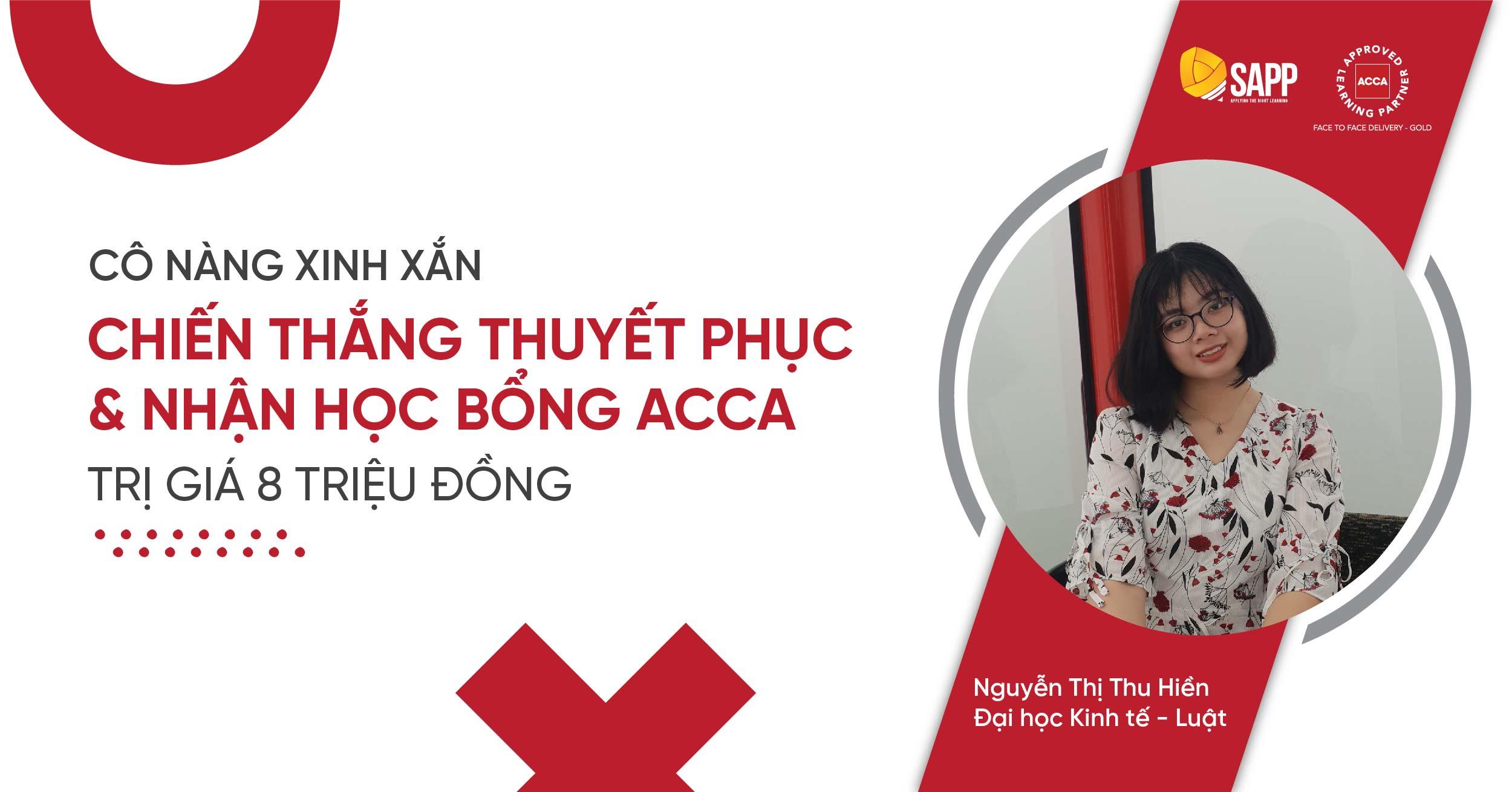 Học viên SAPP Academy nhận học bổng ACCA trị giá 8 triệu đồng