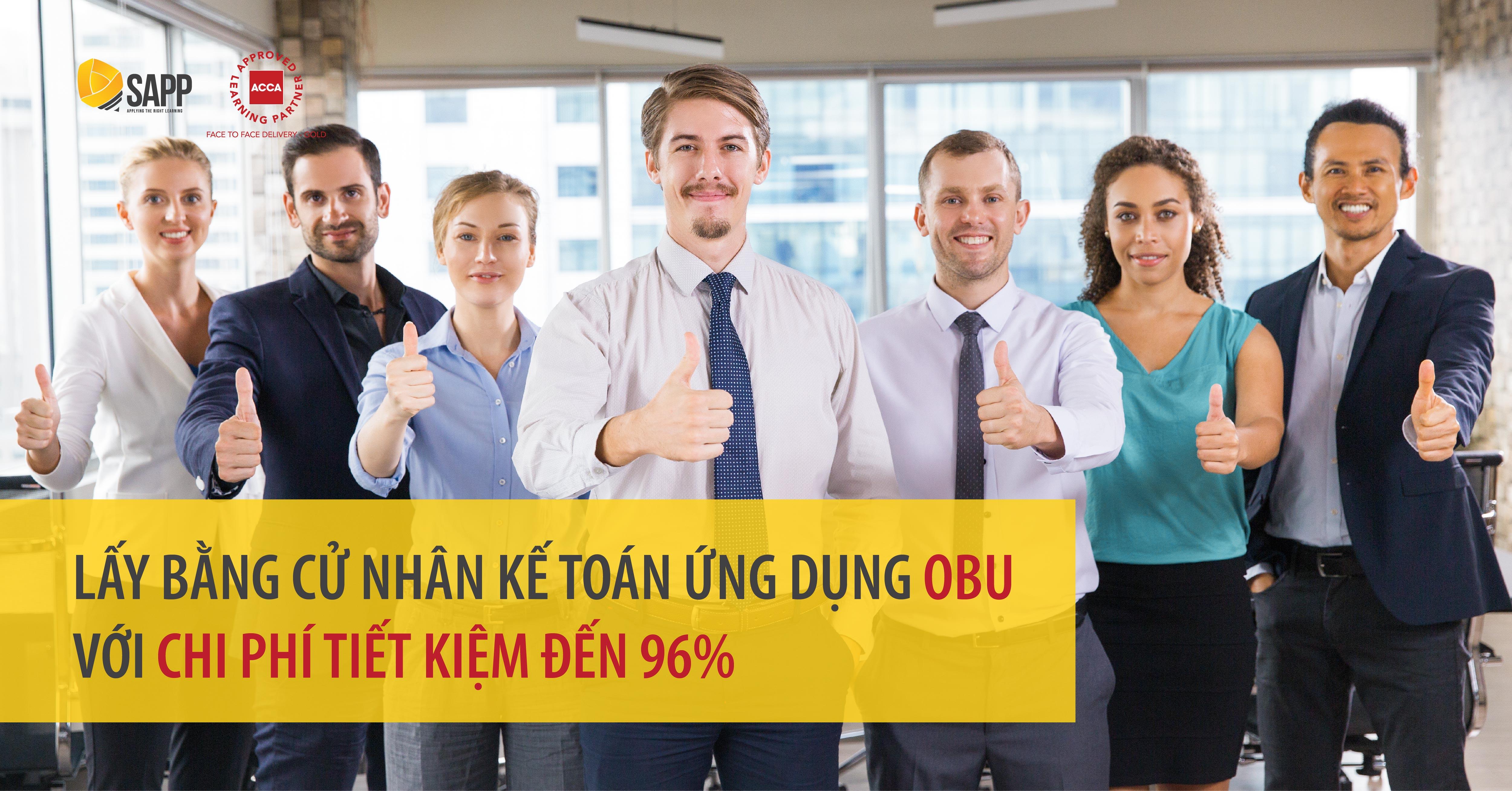 Lấy bằng Cử nhân Kế toán ứng dụng OBU tại Việt Nam với chi phí tiết kiệm đến 96%