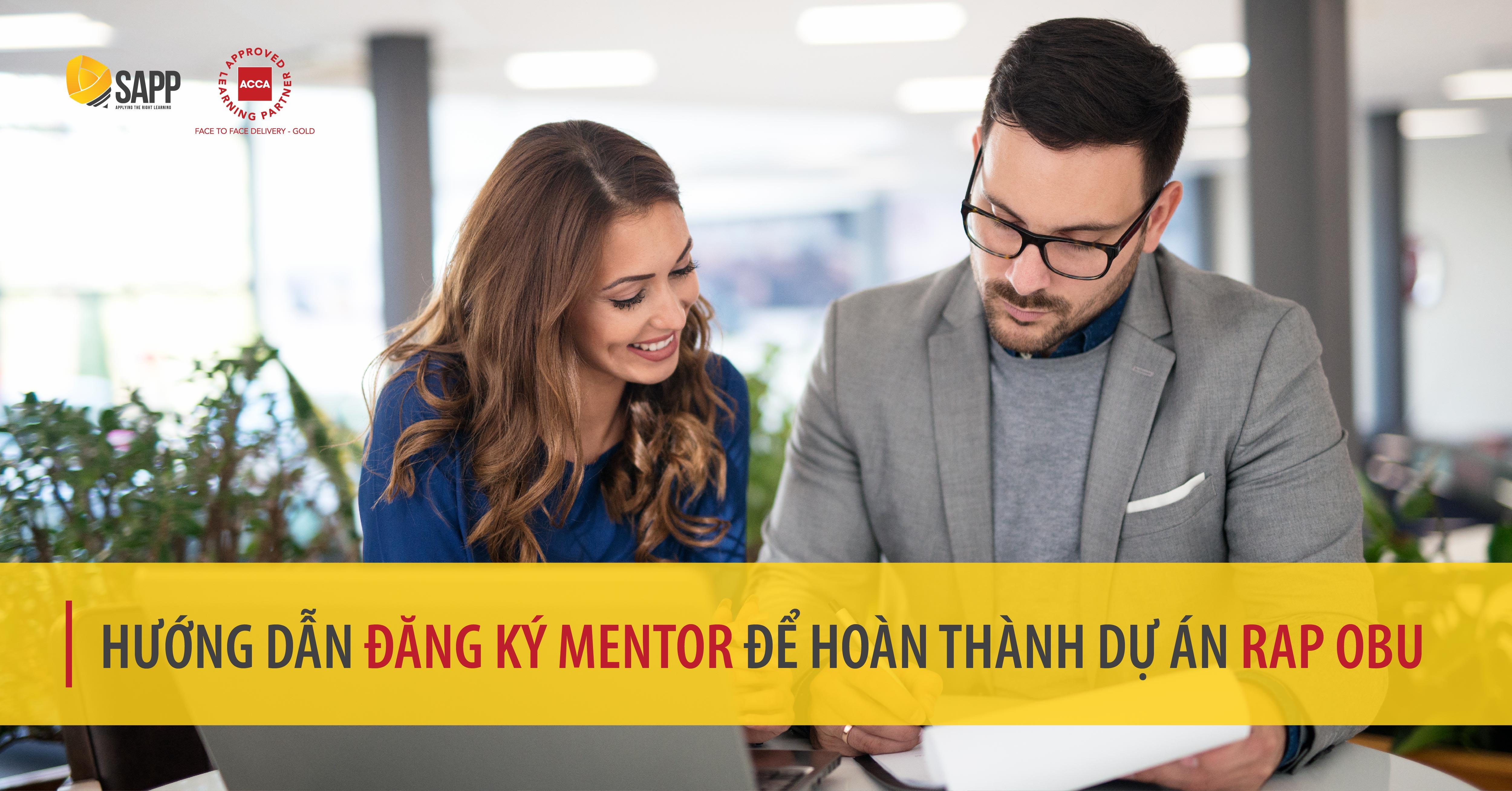 Hướng dẫn đăng ký mentor để hoàn thành Dự án RAP OBU