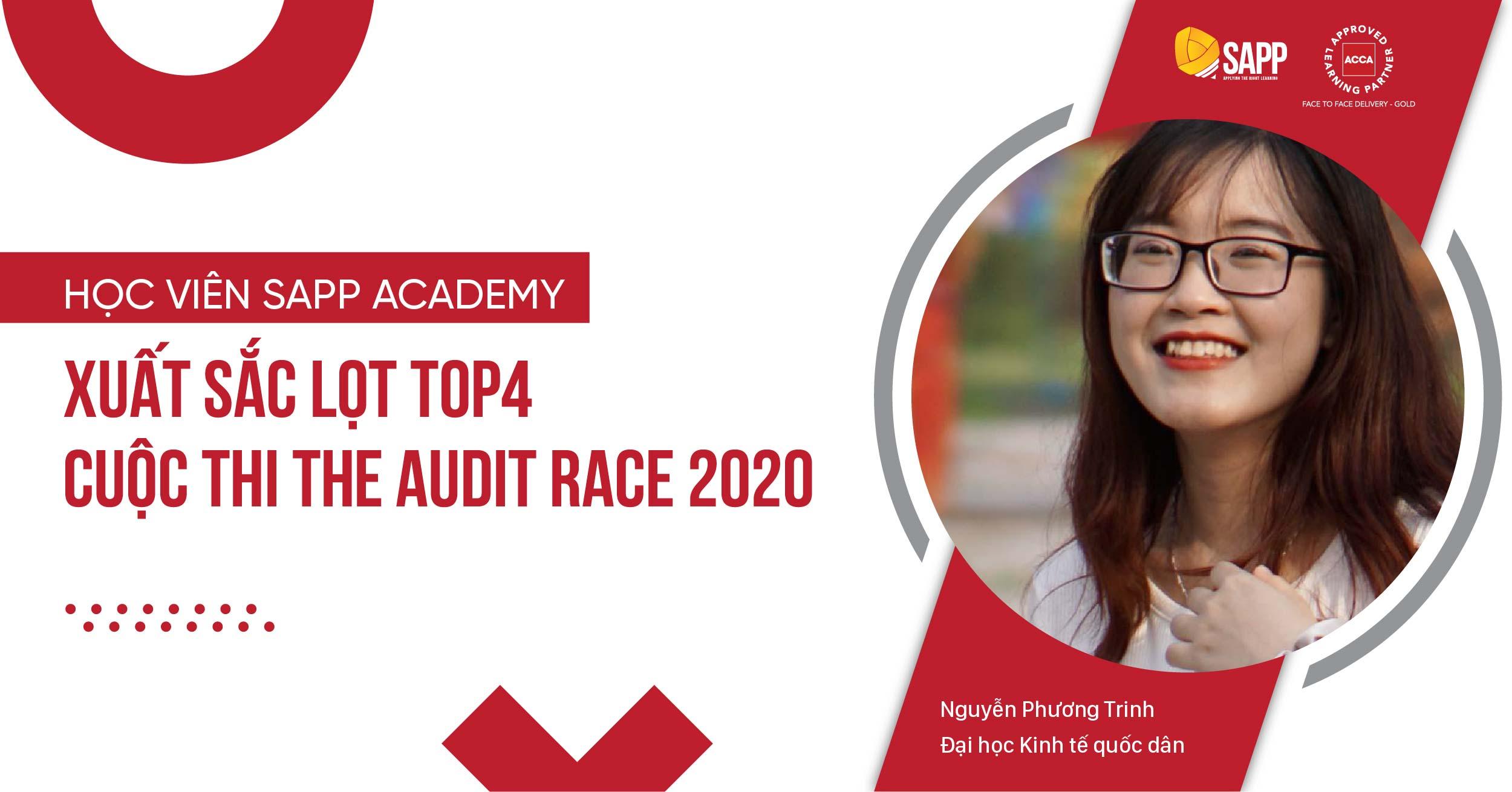 Học viên SAPP Academy xuất sắc lọt TOP4 cuộc thi The Audit Race 2020