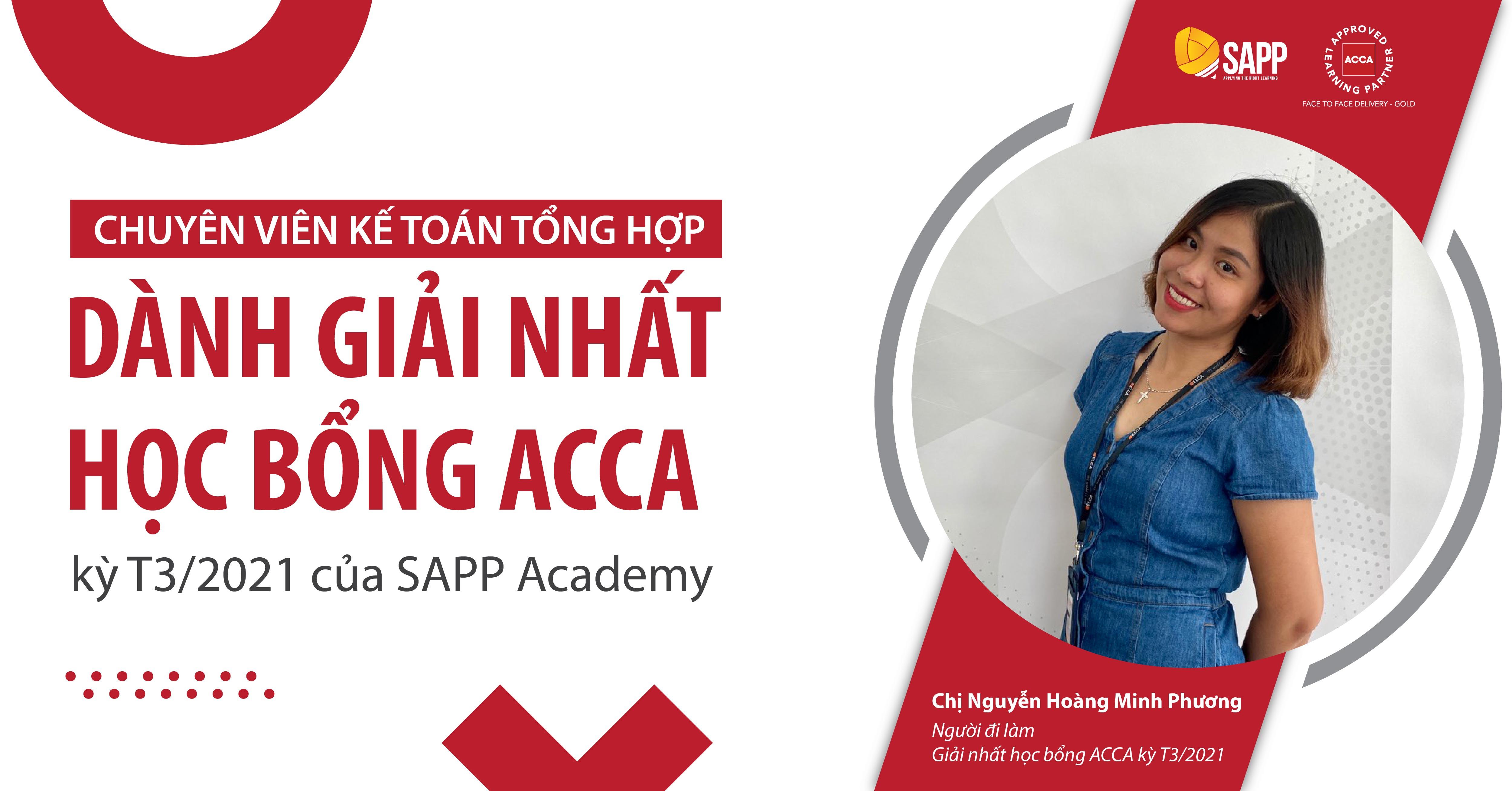Lần đầu xin học bổng, chuyên viên Kế toán tổng hợp đạt giải nhất học bổng ACCA kỳ T3/2021 của SAPP Academy