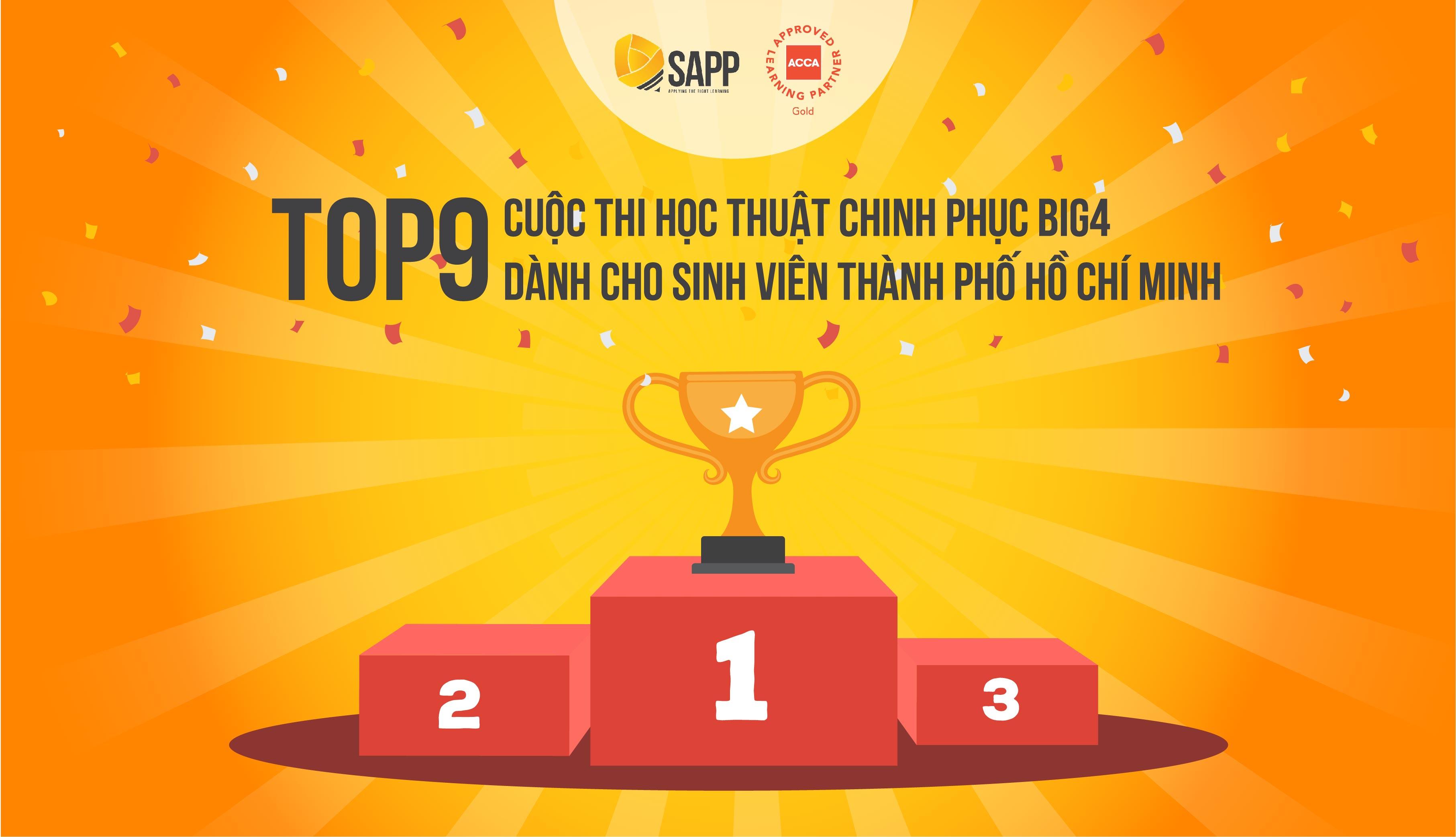 Top 9 Cuộc thi học thuật chinh phục BIG4 tại TP. HCM