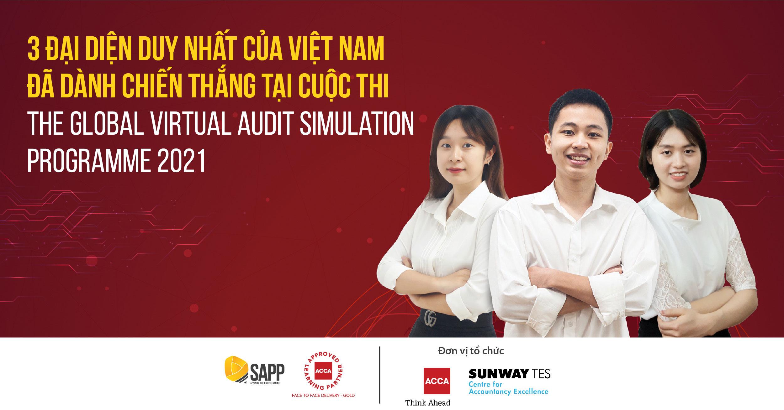 Quang Mạnh, Thùy Linh, Thu Thủy Và Hành Trình Làm Nên Chiến Tích Tại ACCA Global Virtual Audit Simulation Programme 2021