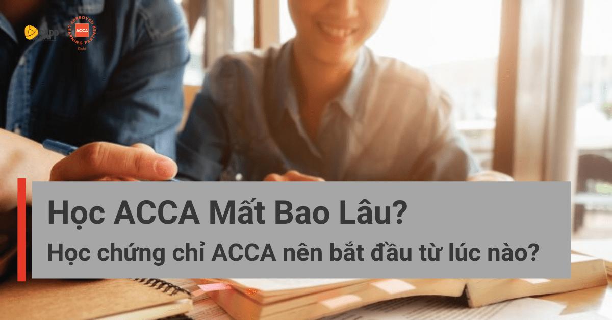 Học ACCA mất bao lâu SAPP.edu.vn