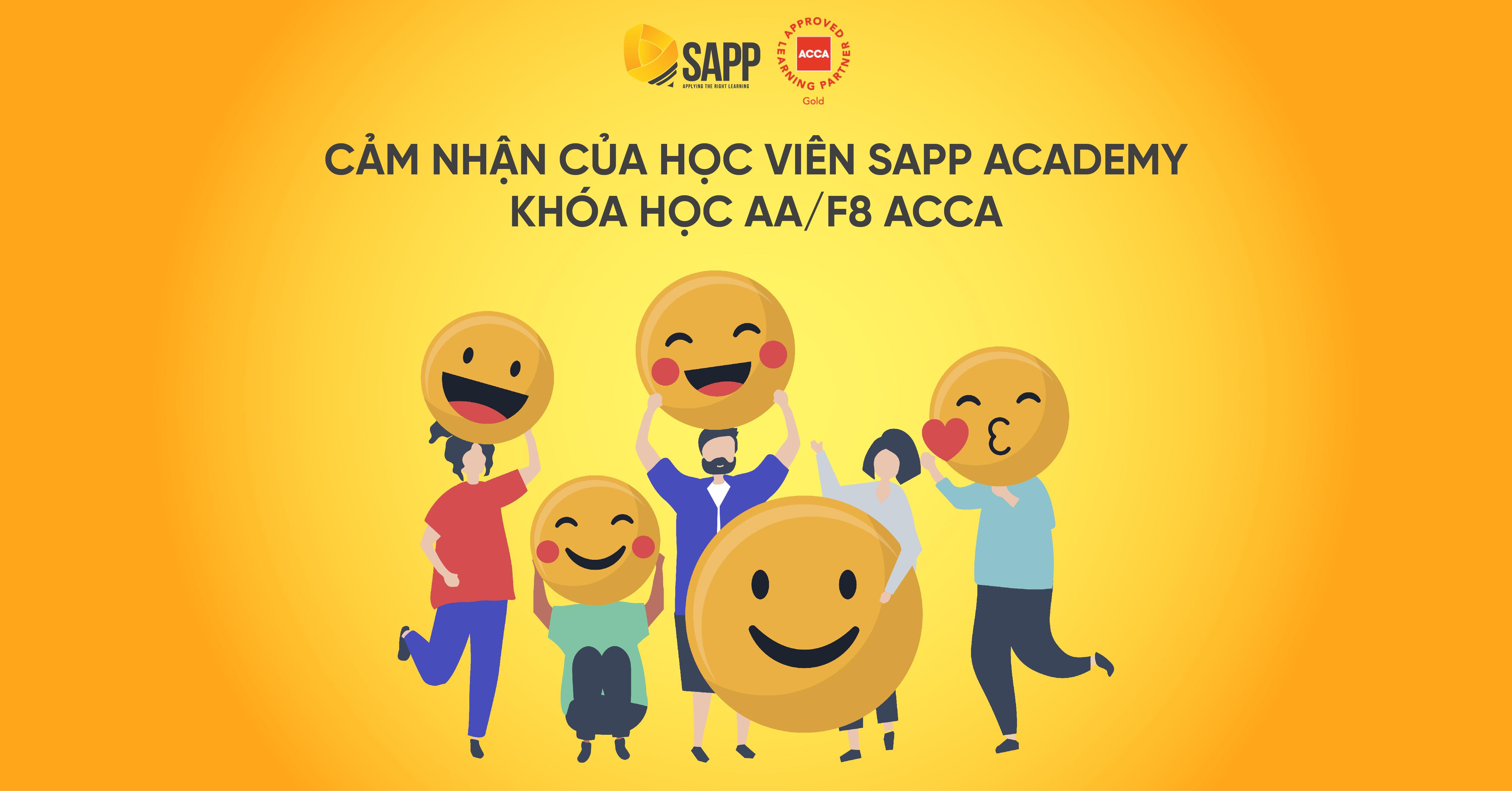 Khóa học AA F8 ACCA tại SAPP Academy