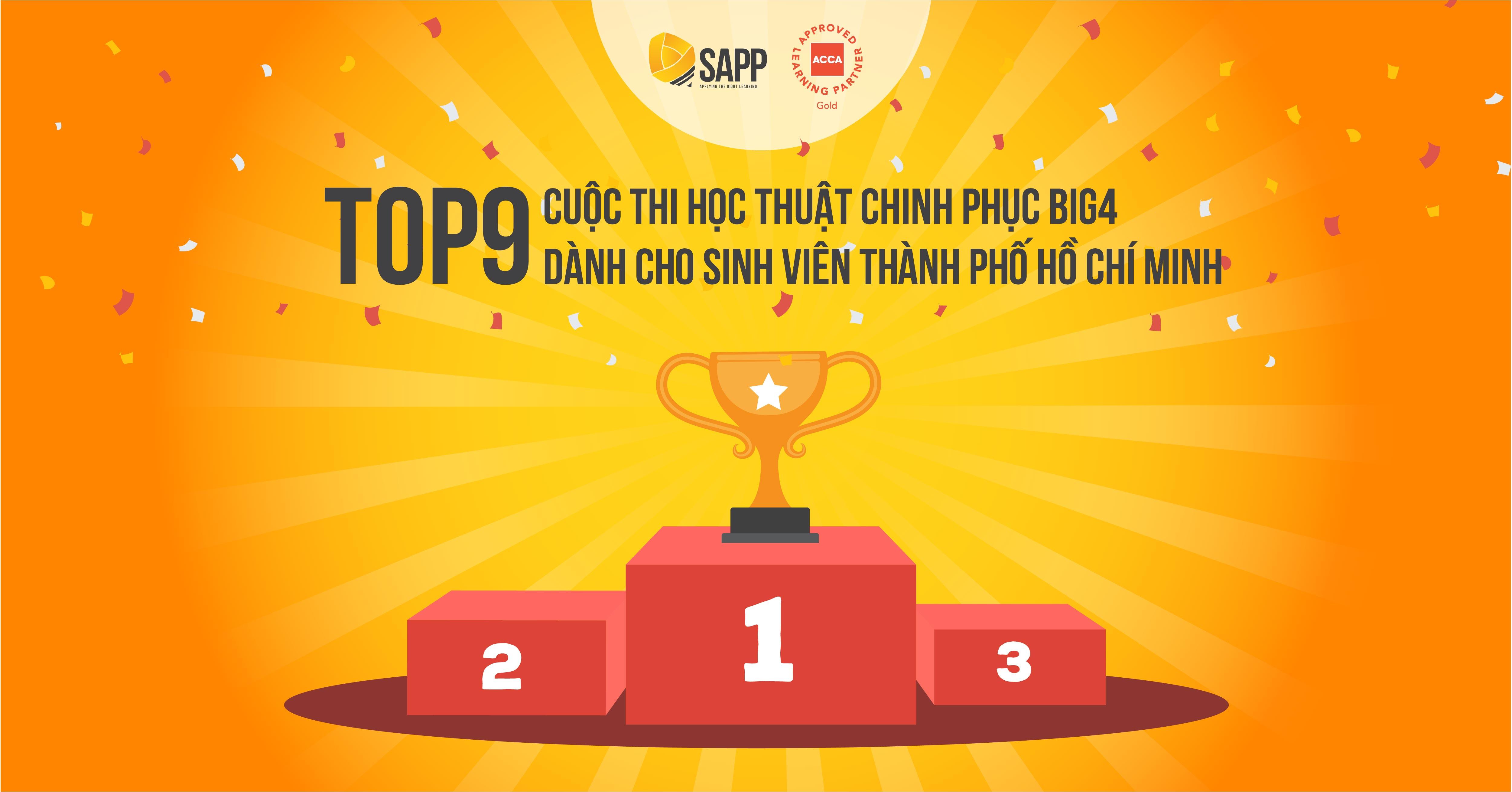 TOP 9 Cuộc Thi Học Thuật Chinh Phục BIG4 Dành Cho Sinh Viên TP. HCM